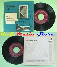 LP 45 7'' BENIAMINO GIGLI Ave maria Agnus dei Standchen Wiegenlied no cd mc
