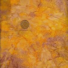 Princess Mirah Bali Batik ZA10 Golden Fern 530 Orange 100% Cotton Fat Quarter