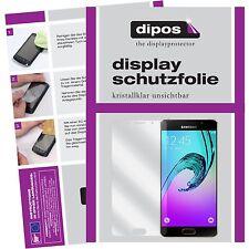 2x Samsung Galaxy A5 (2016) Schutzfolie Display Folie SM-A510 klar dipos