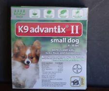 K9- ADVANTIX 2 (4-10 LBS ) SMALL DOGS, 4 MONTH SUPPLY