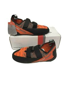 Mad Rock Weaver Men's Climbing Shoes Size 10 Orange EUR 43 NEW in Box Outdoor