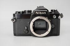 Nikon FE 35mm SLR Film Camera Body Only, Black