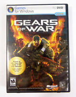Gears of War (PC, 2007) Epic Games Microsoft No Slipcover Manual + Cdkey
