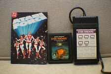 Star Raiders Atari Game with Touch Pad and Atari Force Comic