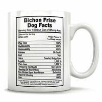 Bichon Frise Dog Facts Bichon Frise Mug Bichon Frise Gift Bichon Frise Mom