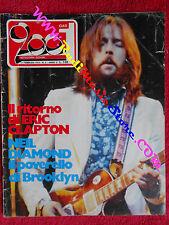 rivista CIAO 2001 6/1973 Clapton Neil Diamond Hot Tuna Genesis Osanna No cd