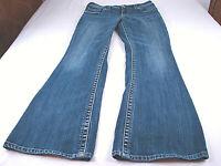 Silver Jeans Suki Bootcut W28 x 29L Thick Stitched Stretch Denim