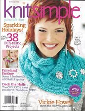 Knit Simple Magazine Holiday Projects Christmas Decor Fairyland Fantasy Sprites
