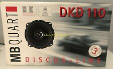 "MB QUART DKD 110 2-Way 4"" Discus-Line Series Vehicle Mobile Car Speaker 70 Watts"