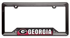 NCAA University of Georgia Bulldogs Full Color Plastic License Plate Frame