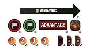 GF9 World of Tanks Gaming Tokens New