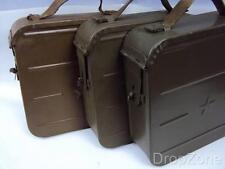 Russian Soviet USSR Metal Tin Military Ammo Ammunition Box