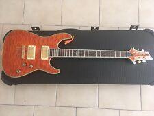 Schecter C1 Elite Amber Guitar - Orange