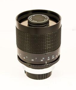 pour KONICA Tokina RMC 500 mm f8 miroir mirror