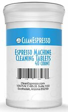 Espresso Machine Cleaning Tablets ( 40 Count ) For Breville brew unit Jura Miele