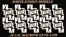White Ensign Models 1/350 Usn .50cal Water-Cooled Mg Single (20pcs) Wem3549