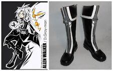 D Gray-man Allen Walker Cosplay Costume Boots Boot Shoes Shoe