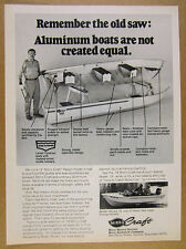 1978 Mirro-Craft Resort & Mister Musky 16 boats photo vintage print Ad