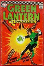 Green Lantern 49 DC Silver Age 1966 Gil Kane Art The Dazzler