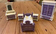 Dolla House Furniture - Purple Bedroom Set