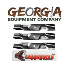 """3 USA made 72/"""" EXMARK 103-6394 103-6394-S copperhead commercial mulching blades"""