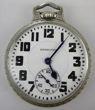 Hamilton 950 Pocket Watch 14K Gold Filled 16 Size Hamilton Railroad B.O.C.