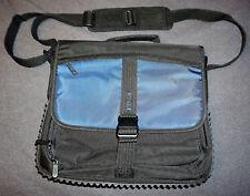 "Targus BlackTop Messenger Computer Case - Notebook carrying 15.4"" black, blue #C"