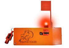 Gator Board planer board offshore fishing Led Light and Strike Flag Kit Included
