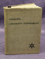 Henschel Lokomotiv- Taschenbuch Züge  Industrie Handel Wirtschaft Lokomotive js