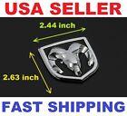 Dodge Ram 1500 2500 Grille, Hood, Fender  Emblem Chrome Black /Replace OEM Mopar