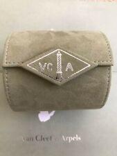 Travel Pouch Box Case Empty Genuine Van Cleef & Arpels Watch Jewelry