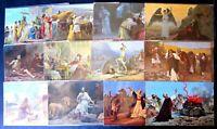 Religione - la Bibbia - Lotto da 22  antiche cartoline - perfette
