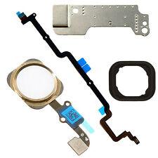 5 Part Gold Home Button Flex Cable Assembly Part Fix for iPhone 6 Plus