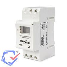 Programador eléctrico digital diario semanal carril DIN Temporizador Interruptor