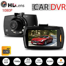 1080P Auto Car DVR Camera Dash Video Recorder 2.4'' LCD G-sensor Night Vision FT