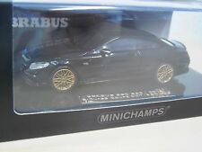 Brabus 850 s63 Coupe 2015 negro-Minichamps 437034220-nº 007 of 350 - 1:43