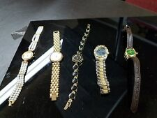 6 women's High Fashion Watches,Fossil,Benrus,JeanPaul,I Magin,Michelle,Ann Klein