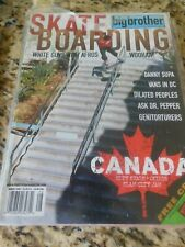 August 2000 Big Brother Skateboard Magazine DANNY SUPA