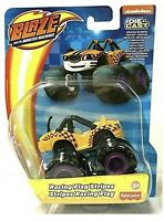 RACING FLAG STRIPES Blaze And The Monster Machines Die-Cast Car Truck New