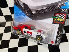 "Hot Wheels 1964 Chevy Corvette Sting Ray ""MARLBORO RACING"" REAL RIDERS custom"