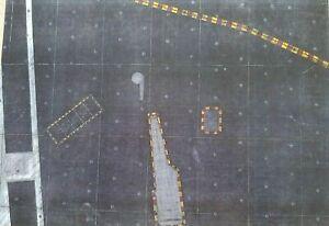 Carrier flight deck 1/48 - Verlinden Productions 299 ( cm 29 x 41 )