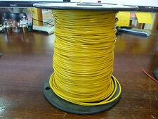 UL1015  18awg  Yellow  Stranded Tinned copper  600V    500ft