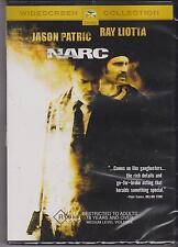 NARC - JASON PATRIC - RAY LIOTTA - BUSTA RHYMES - DVD - NEW -