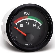 "VDO 12V Voltmeter Gauge Model 332-041 - 2 1/16"" for VW Sand Rail Buggy"