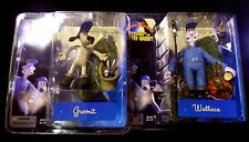 Wallace & Gromit Movie 2 Figure Pose B Set New 2005 Amricons McFarlane Toys