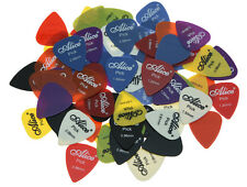 50pcs Alice Smooth Nylon Guitar Bass Picks Plectrums 0.58/0.71/0.81/0.96/1.2/1.5