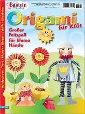 Basteln mit Kindern  BK 545 ORIGAMI für Kids - Handpuppen Flieger Blumen Tiere
