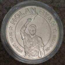 1993 REPUBLIC LIBERIA 1 One Dollar NOLAN RYAN No Hitters uncirculated Coin HOF