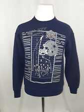 Vintage Dallas Cowboys NFC Champs Super Bowl 27 XXVII Navy Sweatshirt Size M