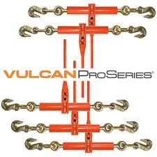 "5 Ratchet Load Binders 3/8""  Boomer Chain Equipment Tiedown 6600 lbs SWL"